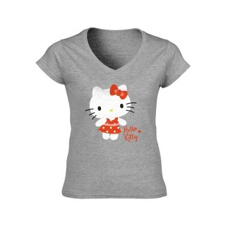 HELLO KITTY Polka Dots, レディースTシャツ