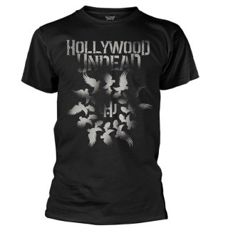 HOLLYWOOD UNDEAD Dove Grenade Spiral, Tシャツ