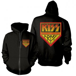 KISS Kiss Army, Zip-Upパーカー