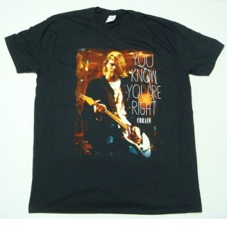 KURT COBAIN You Know You're Right, Tシャツ