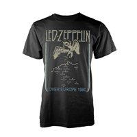 LED ZEPPELIN Over europe 1980, Tシャツ