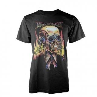 MEGADETH Flaming Vic, Tシャツ