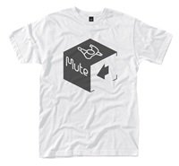 MUTE RECORDS Cube Logo, Tシャツ