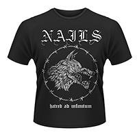 NAILS Abandon All Life, Tシャツ