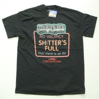 NATIONAL LAMPOON'S CHRISTMAS VACATION Shitter's full, Tシャツ