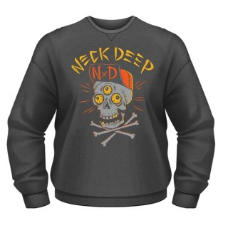 NECK DEEP Skulls, スウェットシャツ