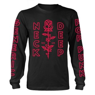 NECK DEEP Flowers, ロングTシャツ