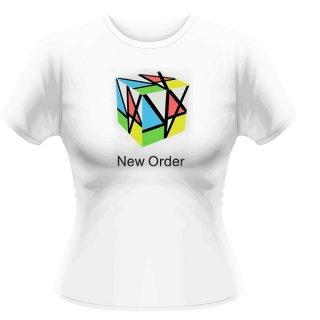 NEW ORDER Rubix, レディースTシャツ