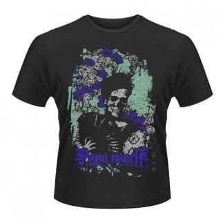 PAPA ROACH Flower Skull, Tシャツ