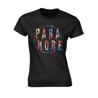 PARAMORE Painting Spiral, レディースTシャツ