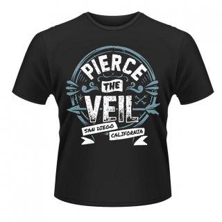 PIERCE THE VEIL San Diego California, Tシャツ