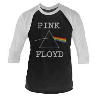 PINK FLOYD Dark Side Dist, ラグラン七分袖シャツ