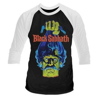 BLACK SABBATH(映画) Black sabbath Head, ラグラン七分袖シャツ