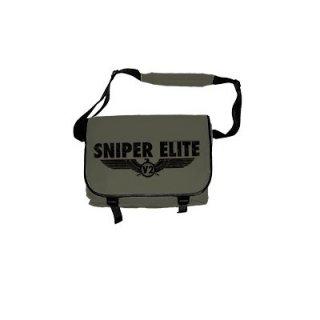 SNIPER ELITE Logo Blk, メッセンジャーバッグ