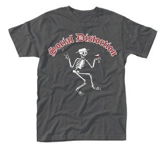 SOCIAL DISTORTION Skelly Logo, Tシャツ