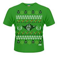 STAR WARS Yoda fair isle, Tシャツ