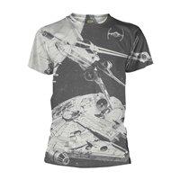STAR WARS Space battle (dye sub), Tシャツ
