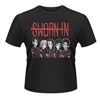 SWORN IN Zombie Band, Tシャツ