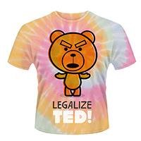 TED Legalize Ted Tie-dye, Tシャツ