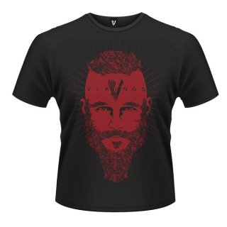 VIKINGS Ragnar Face, Tシャツ