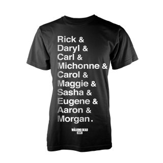 THE WALKING DEAD Names, Tシャツ