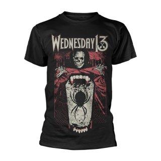 WEDNESDAY 13 Spider Shovel, Tシャツ