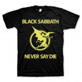 BLACK SABBATH Never Say Die 3, Tシャツ