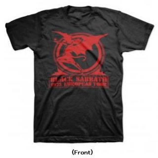 BLACK SABBATH Europe 75, Tシャツ