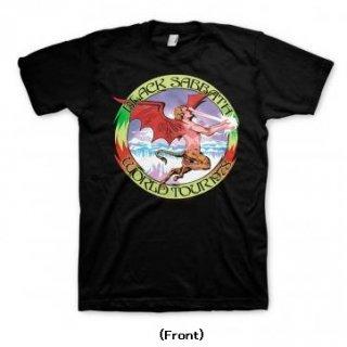 BLACK SABBATH Tour 78 Blk, Tシャツ