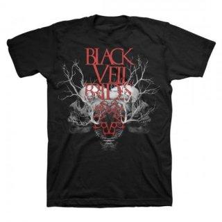 BLACK VEIL BRIDES Branches Skull 2, Tシャツ