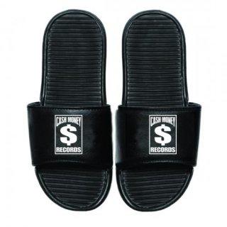 CASH MONEY RECORDS Cm Black Slides, サンダル