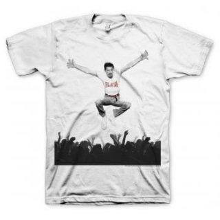 FREDDIE MERCURY Flash Jump Crowd, Tシャツ
