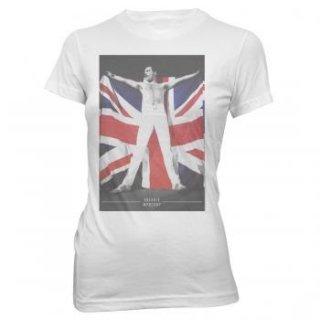 FREDDIE MERCURY Freddie Flag, レディースTシャツ