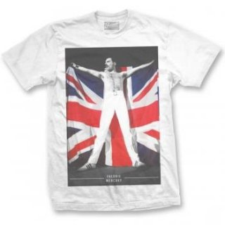 FREDDIE MERCURY Freddie Flag, Tシャツ