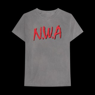 N.W.A. Logo Charcoal, Tシャツ