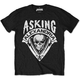 ASKING ALEXANDRIA Skull Shield, Tシャツ