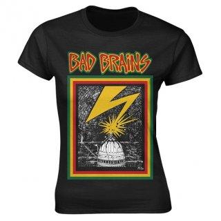 BAD BRAINS Bad Brains, レディースTシャツ