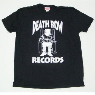 DEATH ROW RECORDS Logo Black, Tシャツ