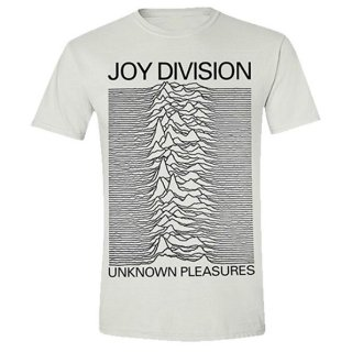 JOY DIVISION Unknown Pleasures White, Tシャツ