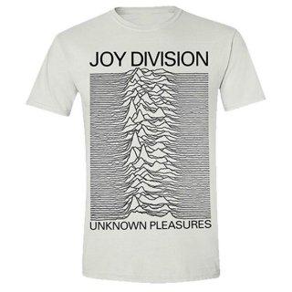JOY DIVISION Unknown Pleasures White, Tシャツ