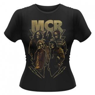 MY CHEMICAL ROMANCE Appetite For Danger, レディースTシャツ