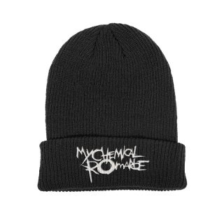 MY CHEMICAL ROMANCE The Black Parade Logo, ニットキャップ