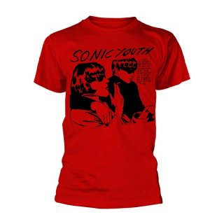 SONIC YOUTH Goo Album Cover Red, Tシャツ