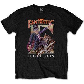 ELTON JOHN Captain Fantastic, Tシャツ