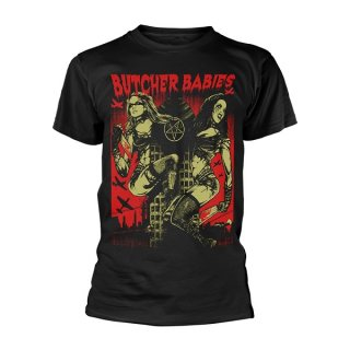 BUTCHER BABIES Tower Of Power, Tシャツ