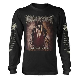 CRADLE OF FILTH Cruelty And The Beast, ロングTシャツ