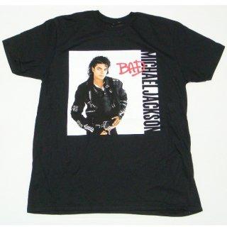 MICHAEL JACKSON Bad (Black), Tシャツ
