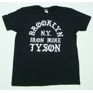 MIKE TYSON Old English Text, Tシャツ