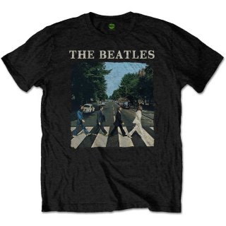 THE BEATLES Abbey Road & Logo 3, Tシャツ