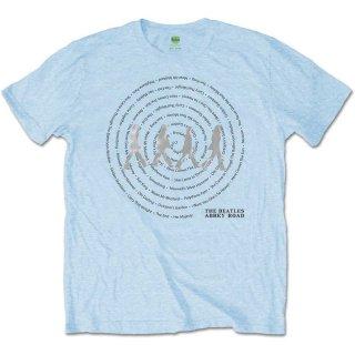 THE BEATLES Abbey Road Songs Swirl 3, Tシャツ